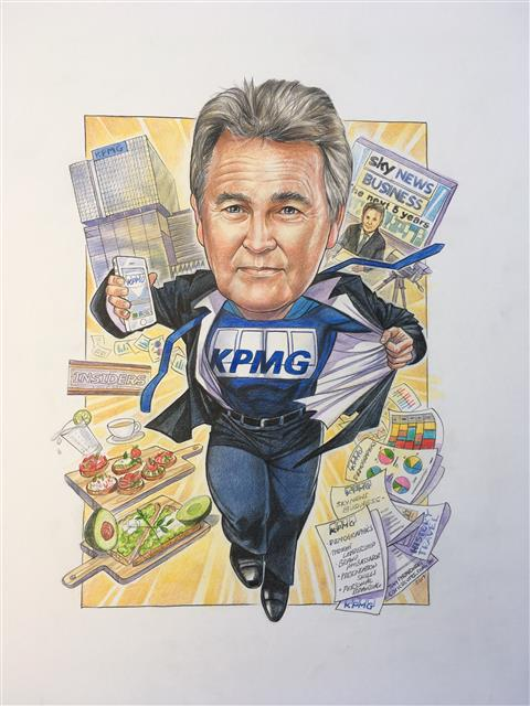Bernard Salt retirement gift KPMG