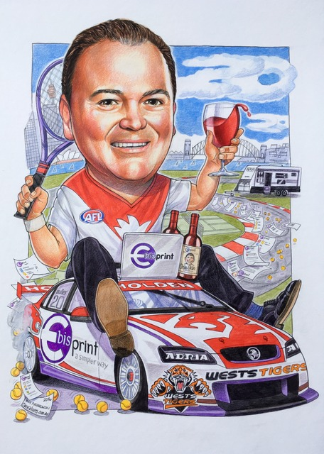 E-BISPRINT Corporate Caricature